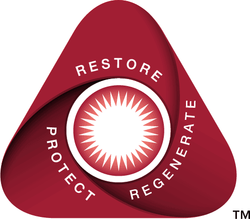 Restore - Regenerate - Protect Triangle Image